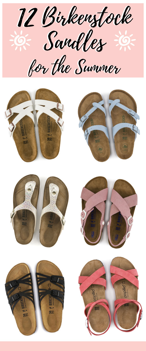 Best Birkenstocks for Summer. Get these comfortable and supportive summer shoes. Get ready for summer fashion. #summer #fashion #sandals #shoes #summerfashion