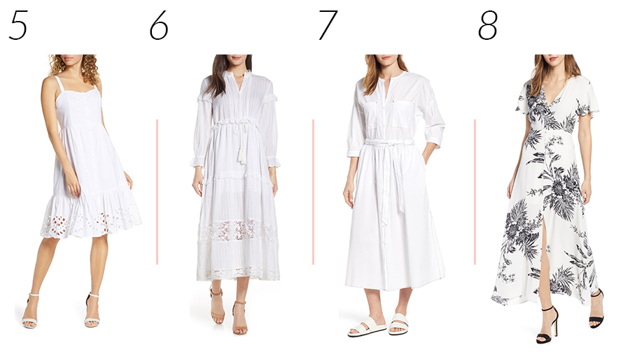 Casual White Dresses