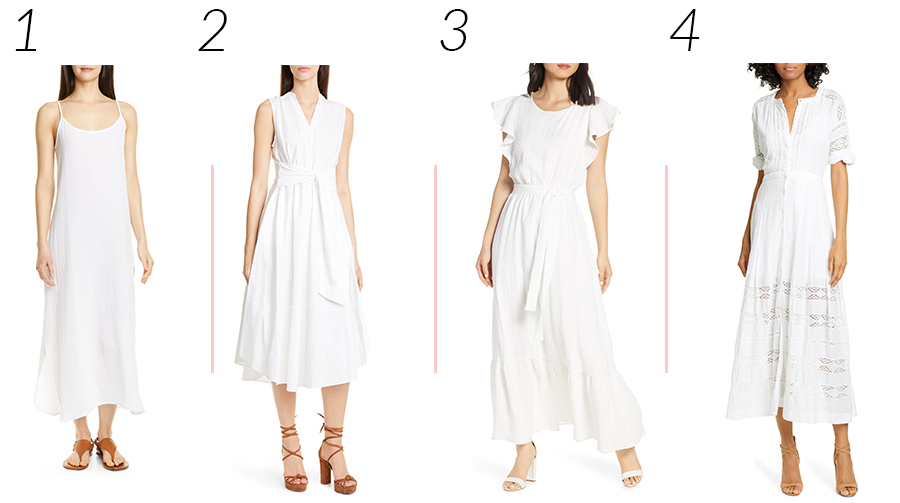 White Summer Dresses from Nordstrom