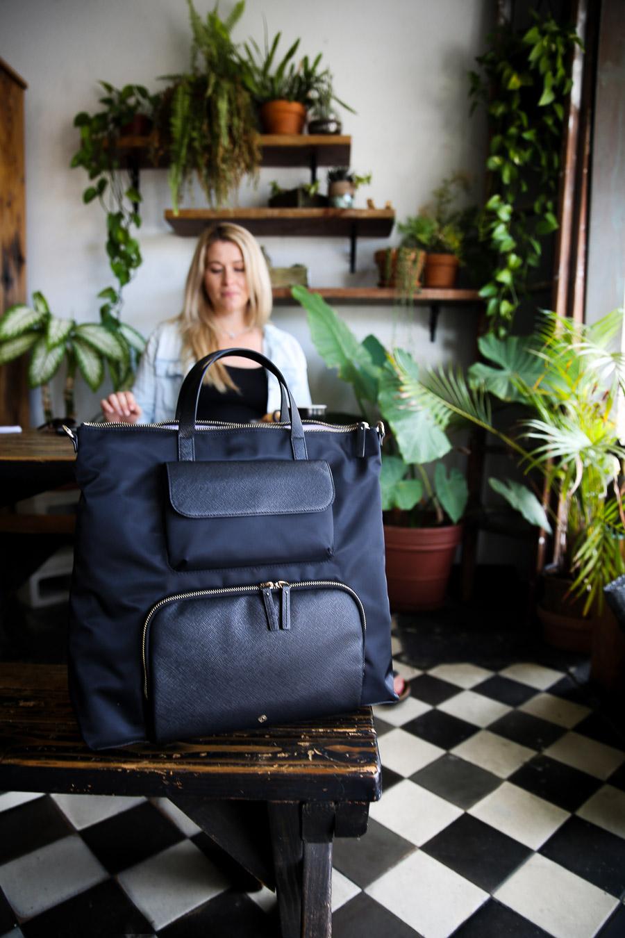 Stylish Baby Bag Backpack {Samsonite Encompass Review}