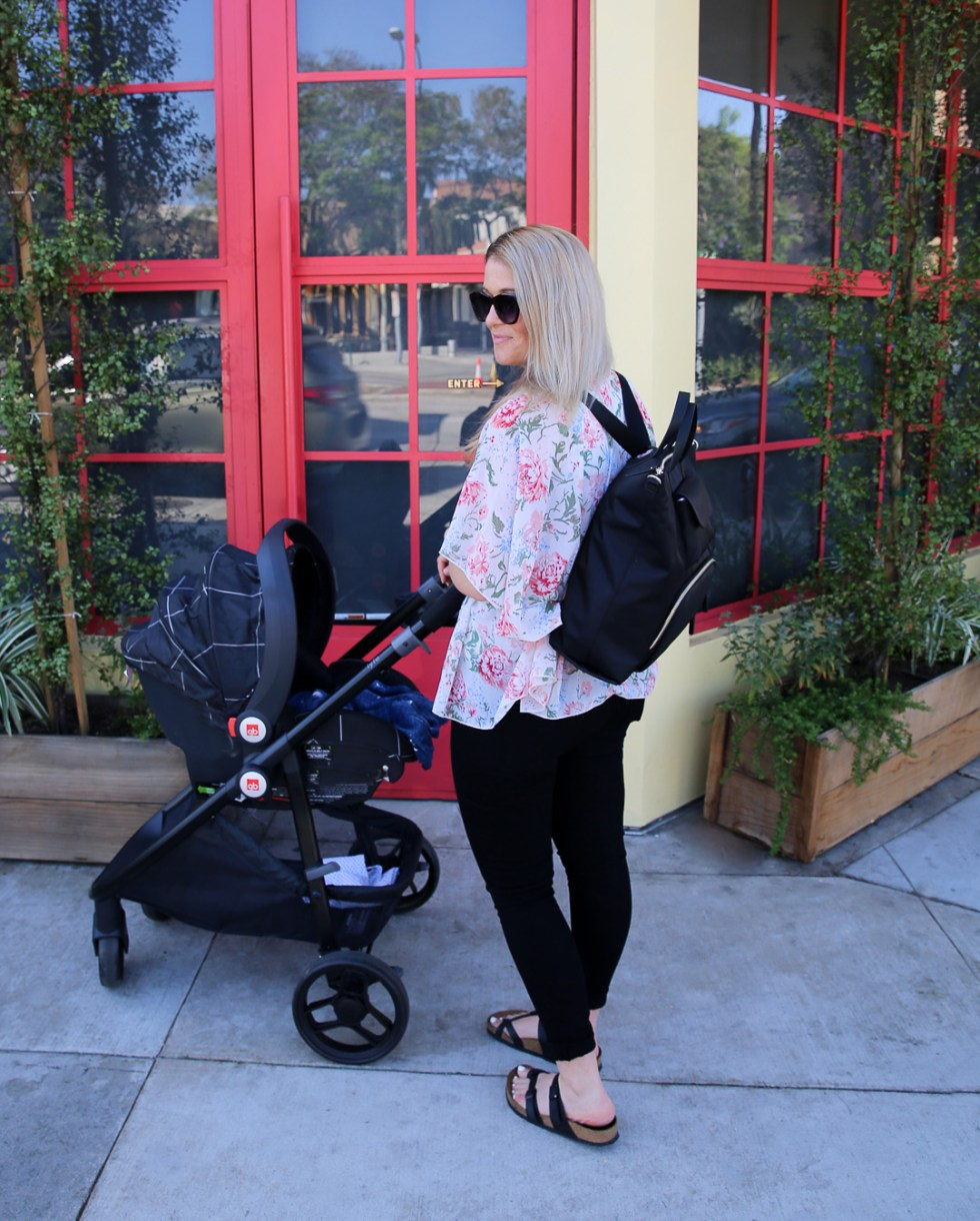 Stylish Baby Bag Backpack {Samsonite Encompass Review}