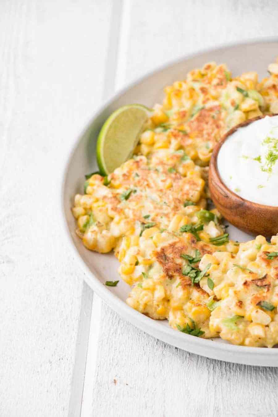 Jalapeno Lime Corn Fritters - My Kitchen Love (2)