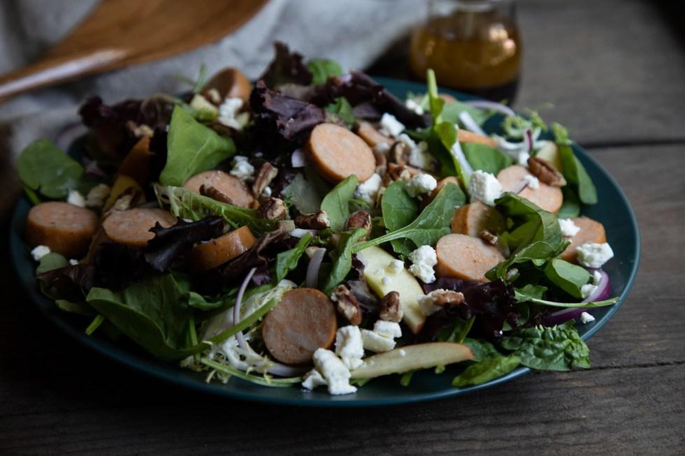 Chicken Sausage Salad Recipe