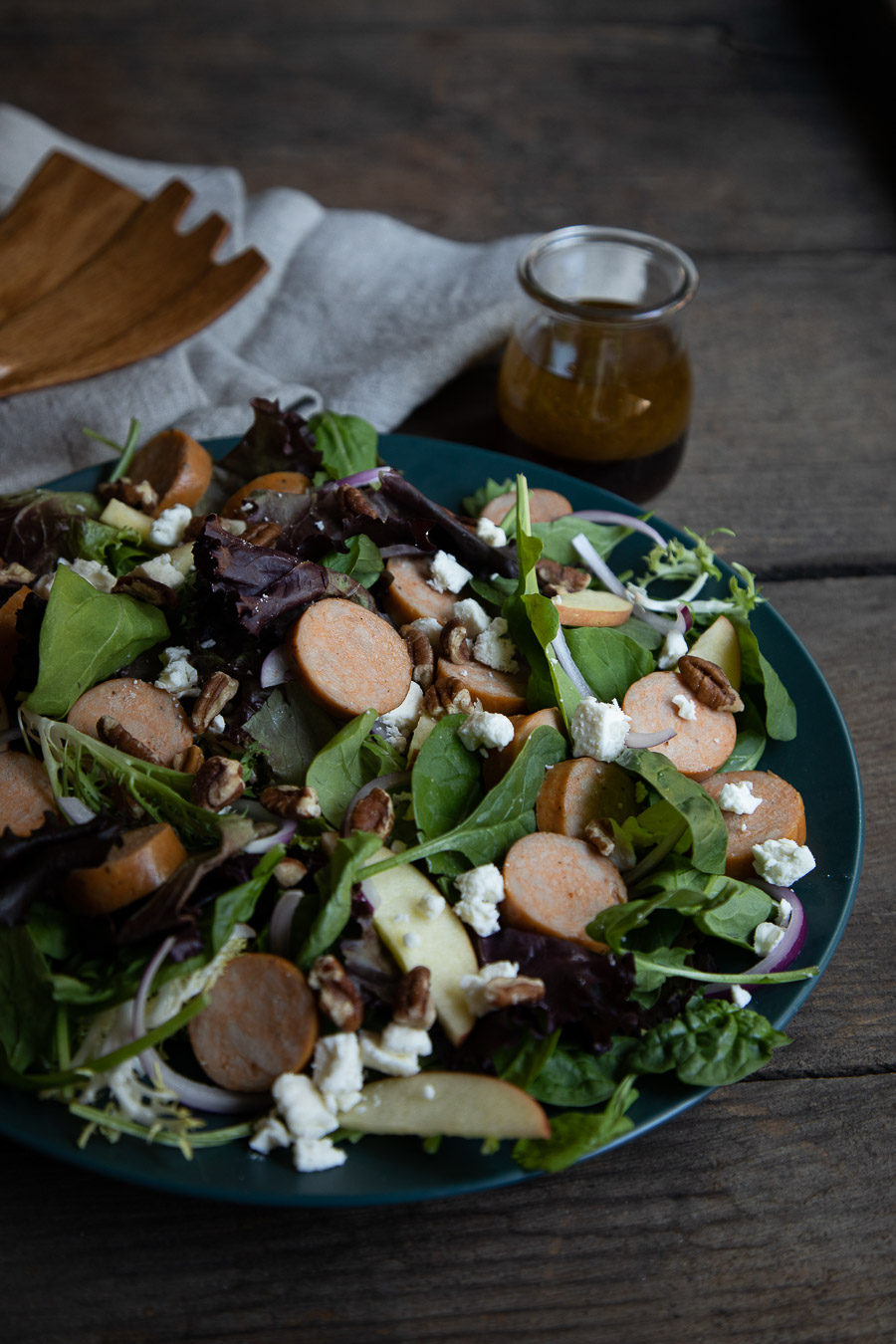 Fall Salad with Maple Dressing