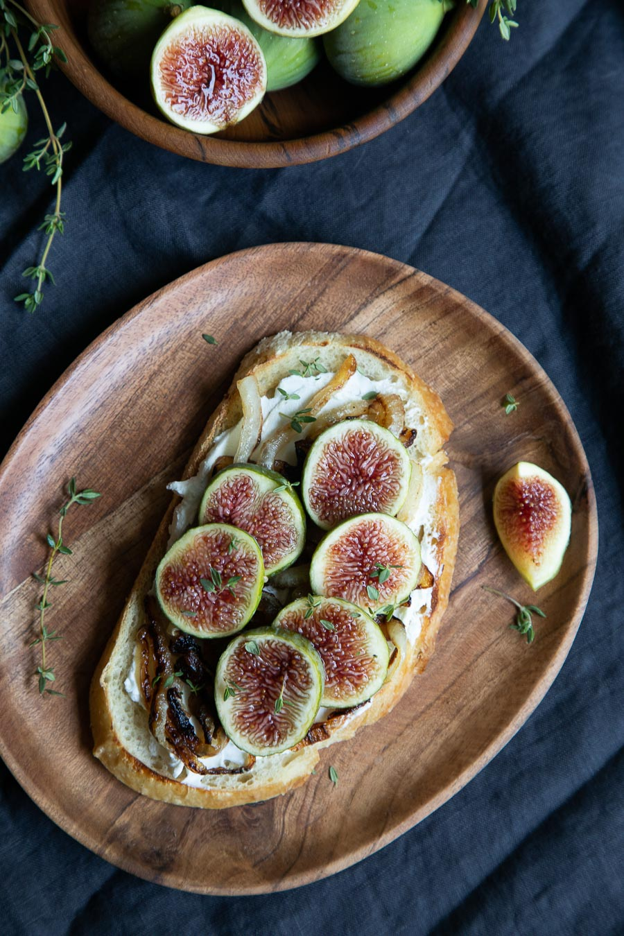 Green Fig Toast