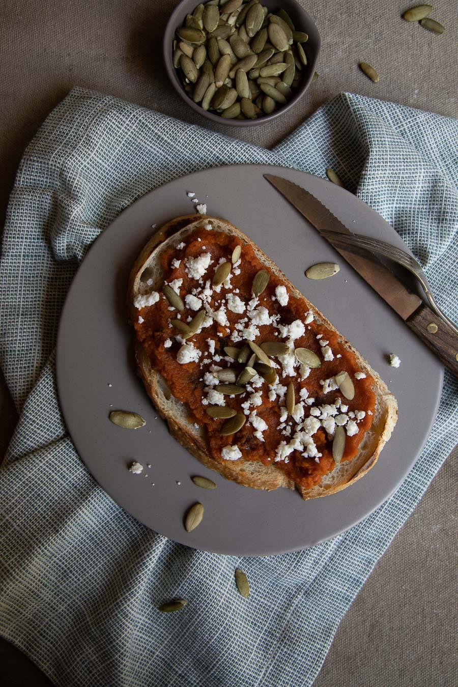 Pumpkin Toast