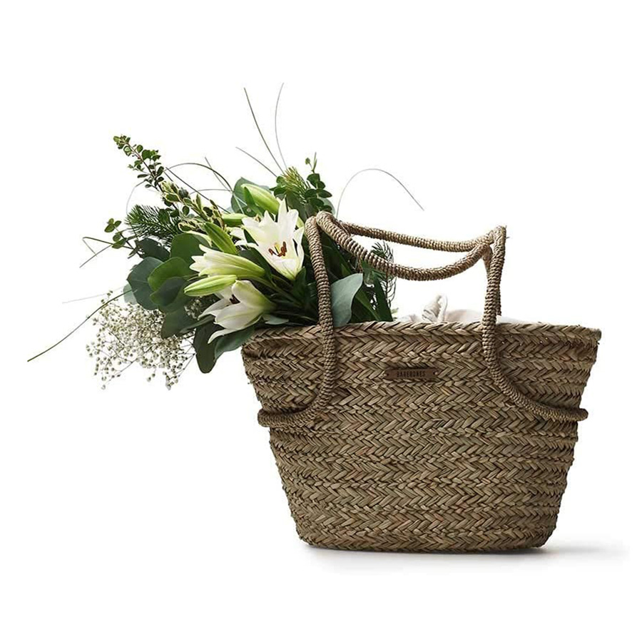 Lined Garden Tote - Chic Gardening Accessories