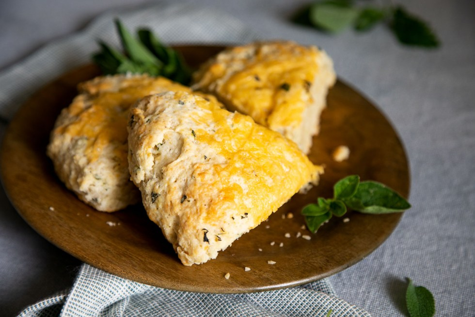 Cheddar and Herb Scones