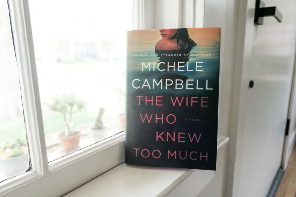 The Wife Who Knew Too Much Book on Ledge