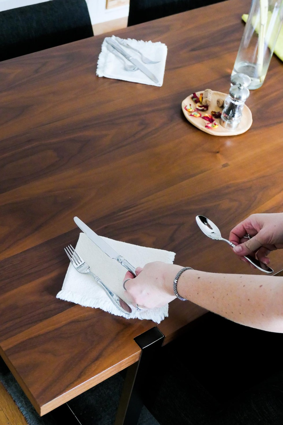 Setting the Table - How to Stop Using Paper Towels