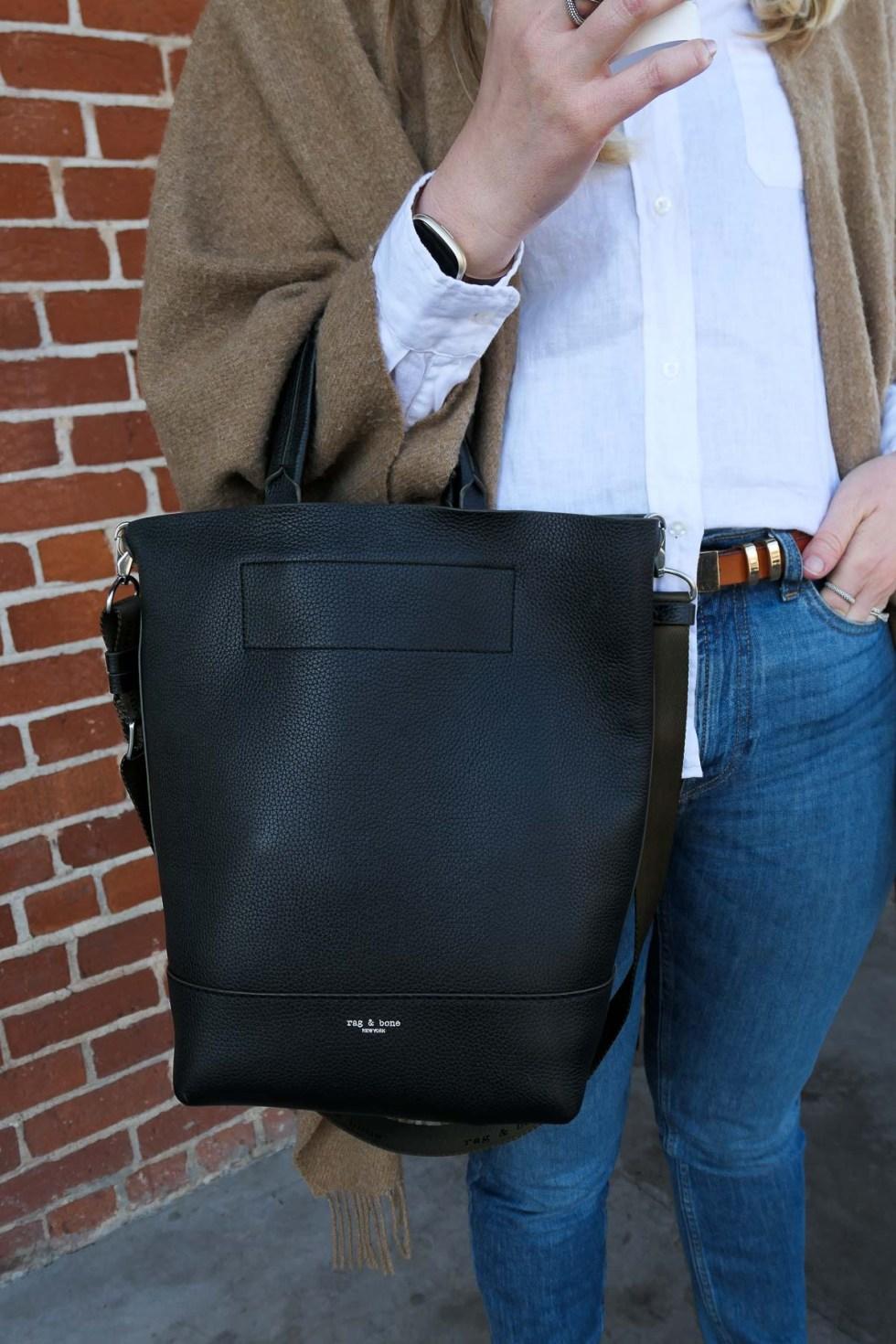 Rag & Bone Black Crossbody Bag