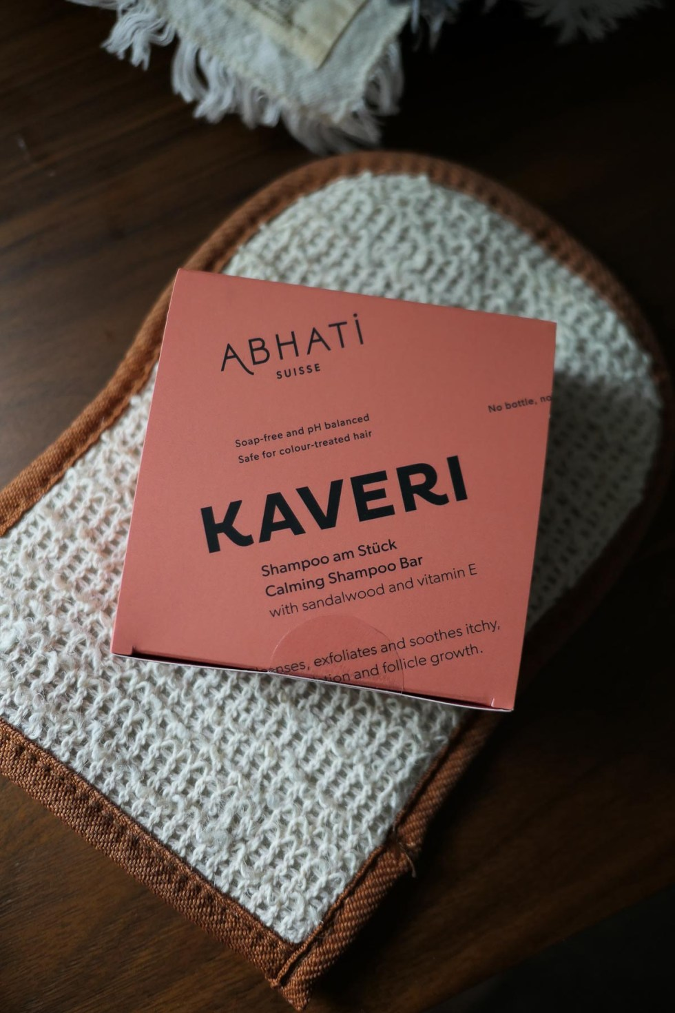 Sustainable Product Review - Abhati Suisse Shampoo Bar