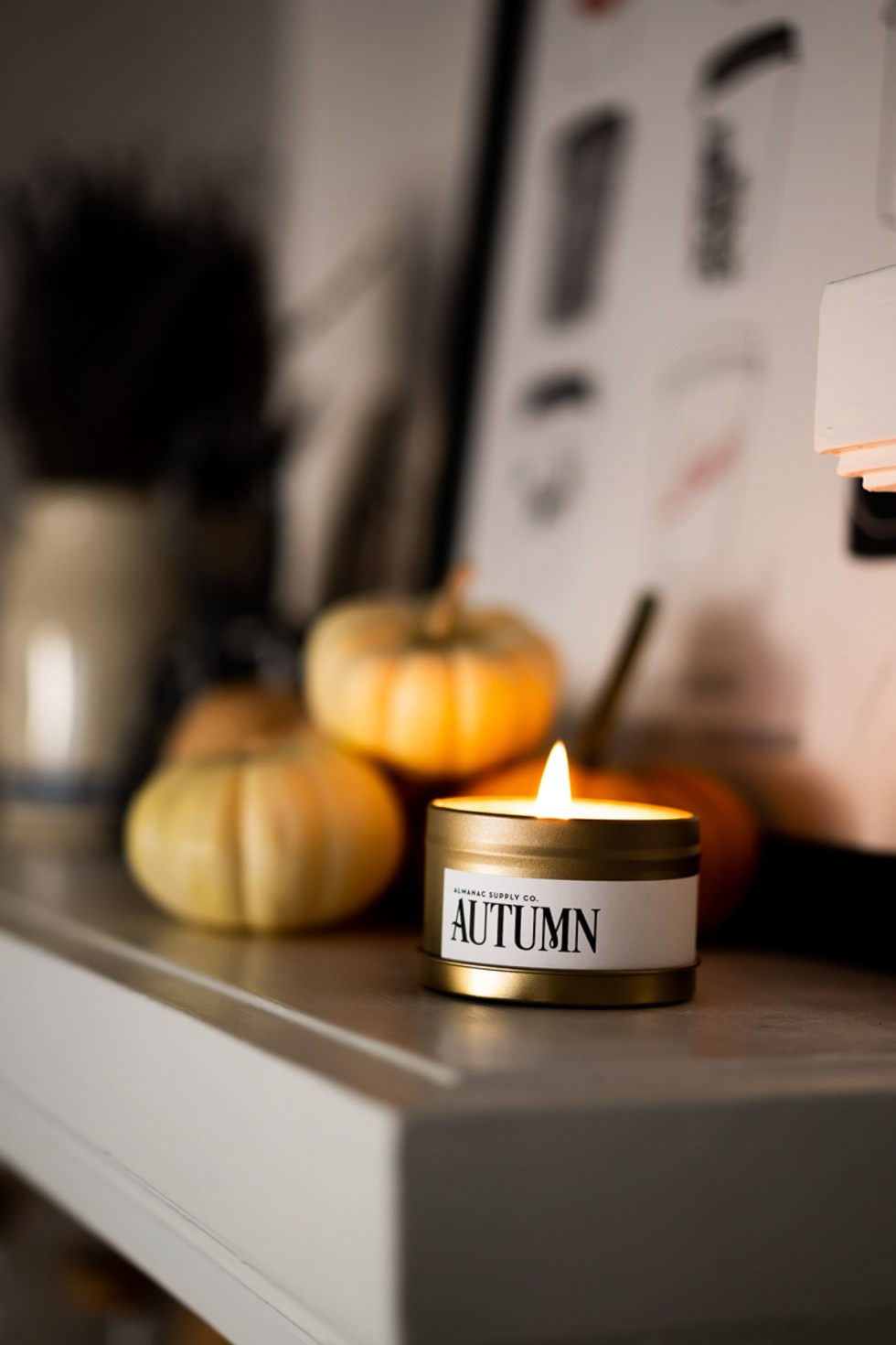 Fall Candle without Pumpkin Spice