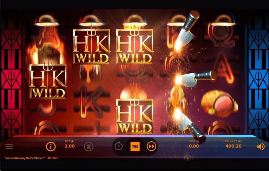 Hell's Kitchen Slot - Random Feature