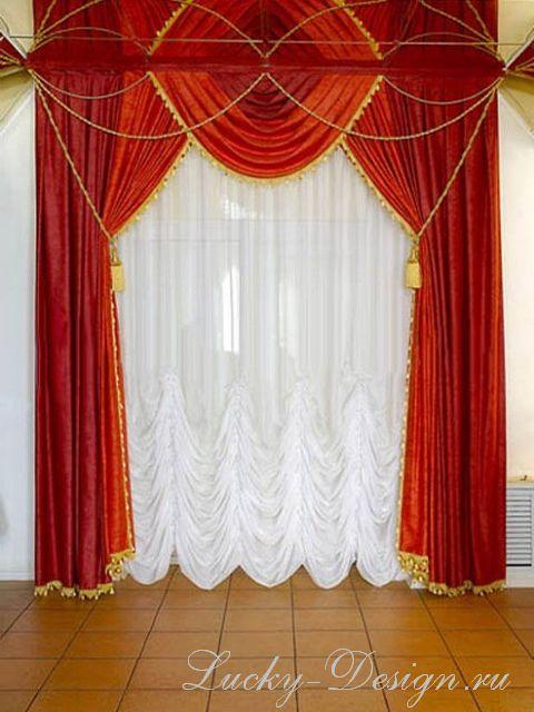 Как шить шторы в квартиру, шторы в интерьере квартиры.