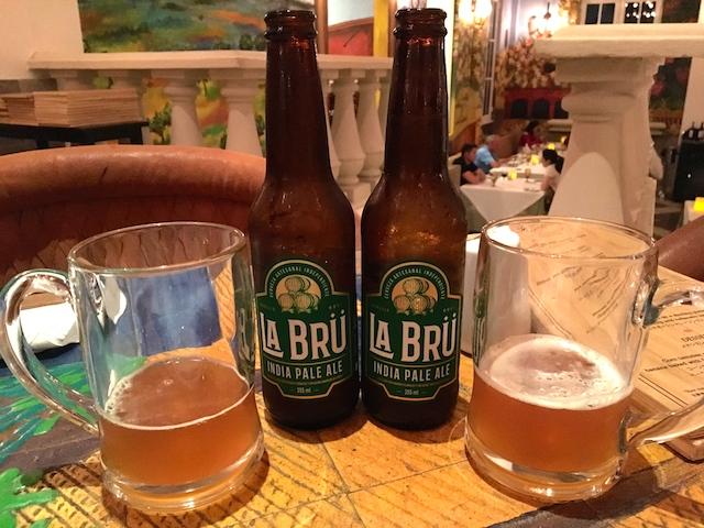 ラ・アデリータのビール