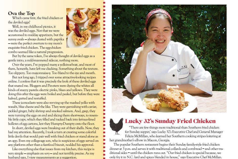 Read more Press about Lucky 32 Southern Kitchen