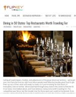 Dining in 50 States: Top Restaurants Worth Traveling For