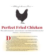 O.Henry MagazineThe Perfect Fried Chicken July 2016