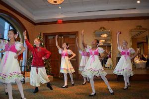 Ballet Dancers at the Nutcracker Tea at O.Henry Hotel