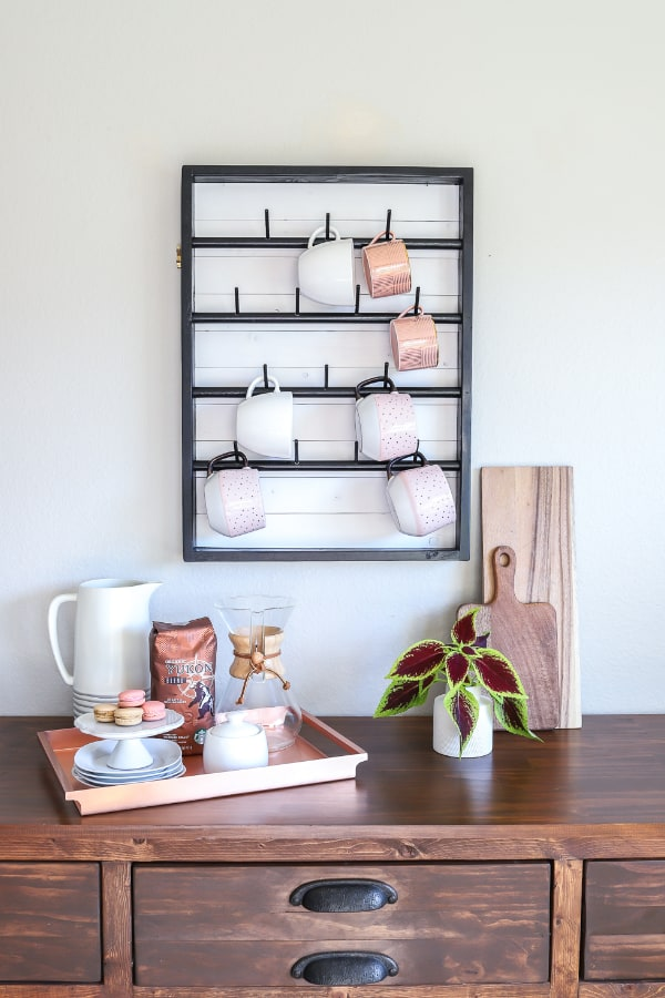 17 homemade coffee mug holder plans you