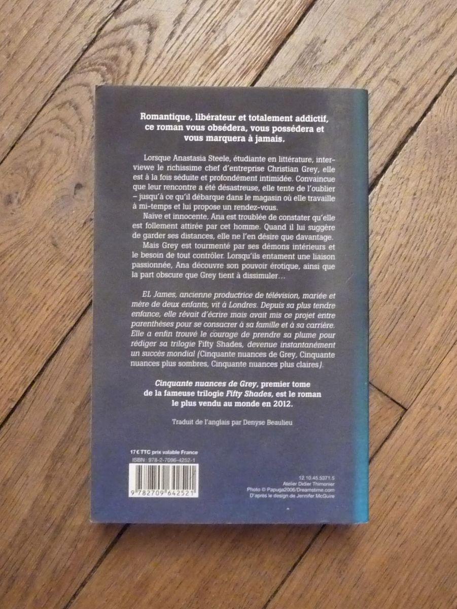 5,00 eur de frais de livraison. Cinquante Nuances De Grey- Tome 1- Trilogie Fifty Shades ...