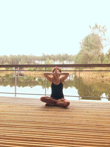 Tania Chlafit - professeure de yoga à Bordeaux