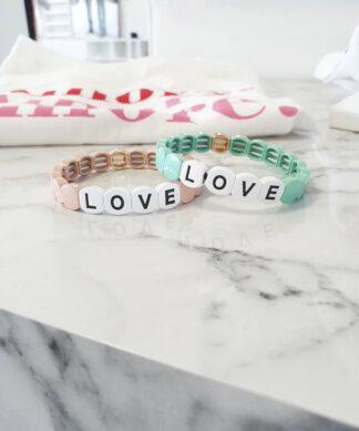 Armband LOVE UNI – versch Farben