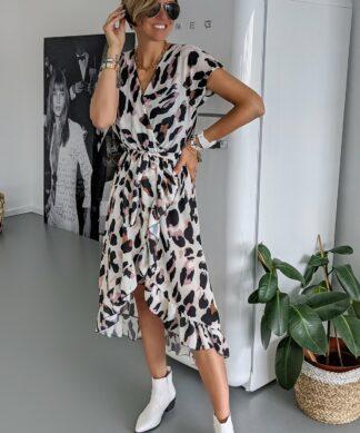 Kleid in Wickeloptik GONE WILD