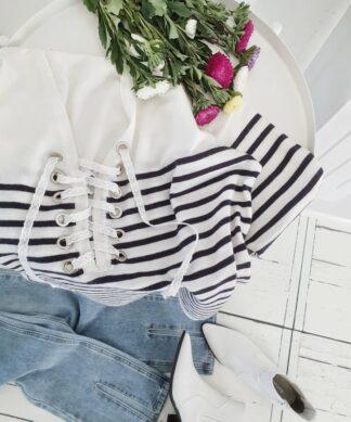 Pullover MELANGE – gestreift SALE