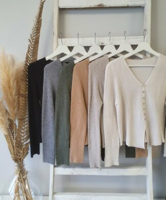 Cardigan SWEET BUTTON DOWN -versch. Farben – SALE