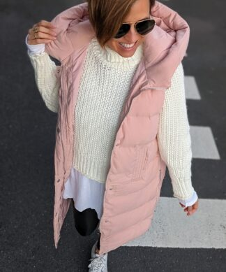 wattierte Steppweste PADDED – rosa