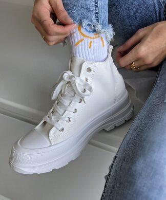 Sneaker HIGHTOP – weiss – SALE