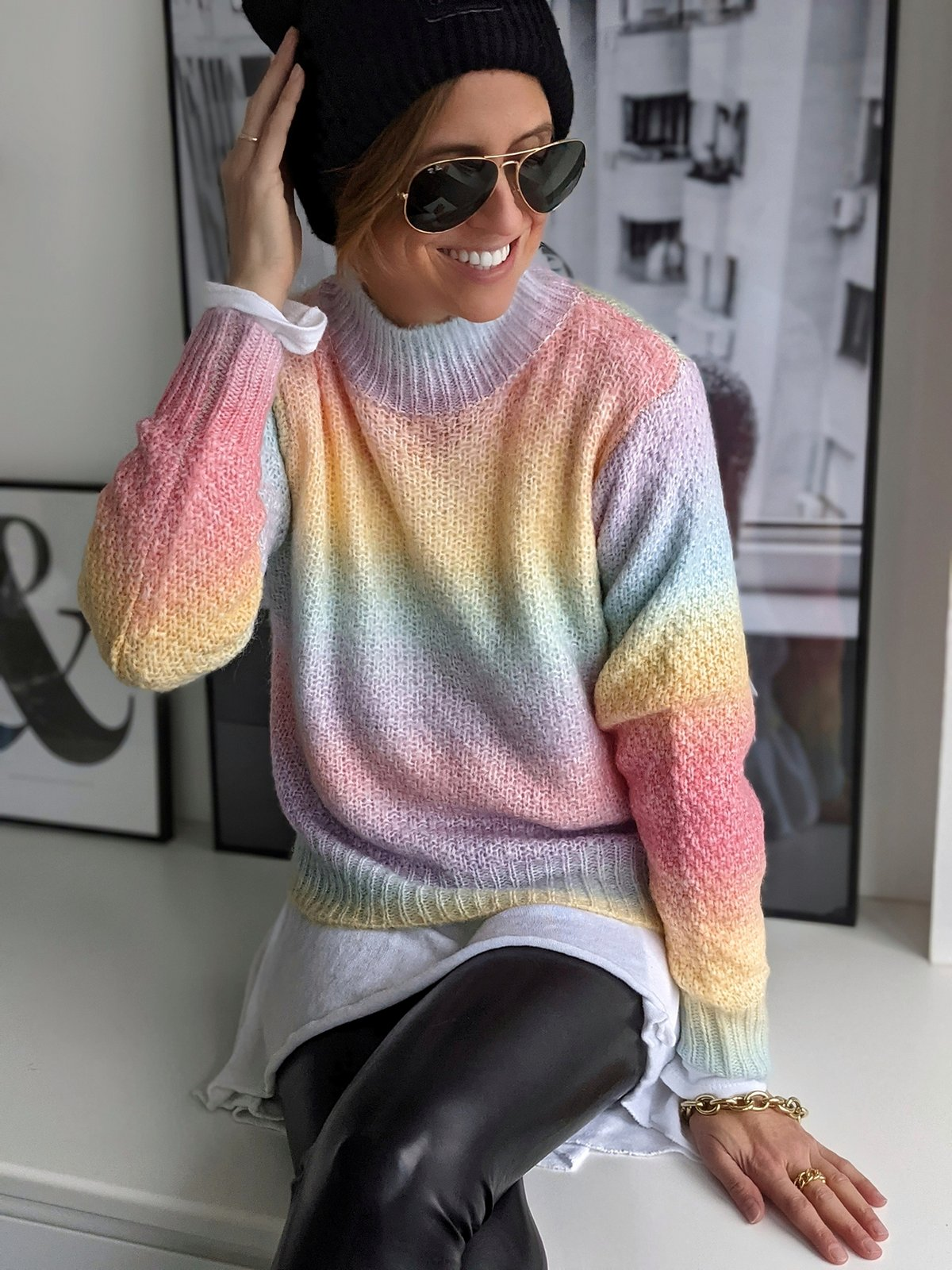 Pullover OVER THE RAINBOW