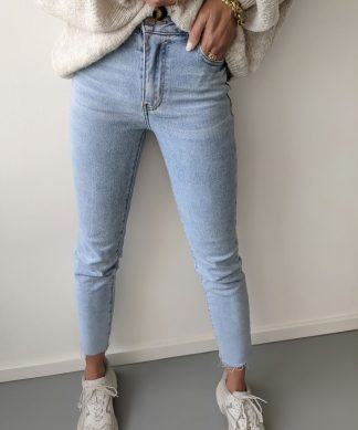 SLIM-Mom-Jeans – light BLUE