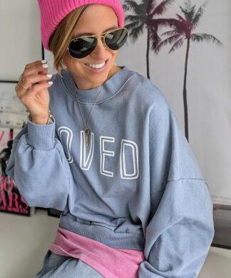 lässiger Sweater LOVED 2.0 – FRESH COLOURS