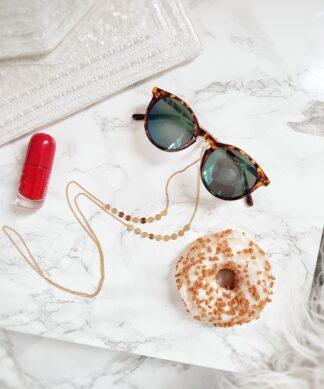 Brillenkette SHOPAHOLIC – gold