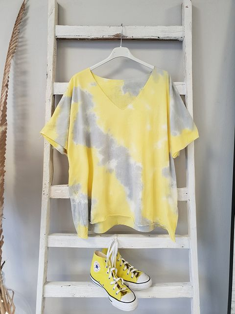 Shirt YELLOW BATIK