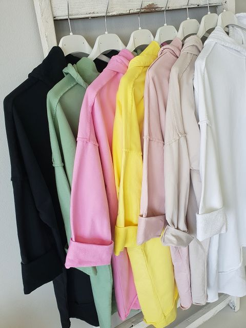 Sweathoodie BASIC BUT BEAUTIFUL – versch. Farben