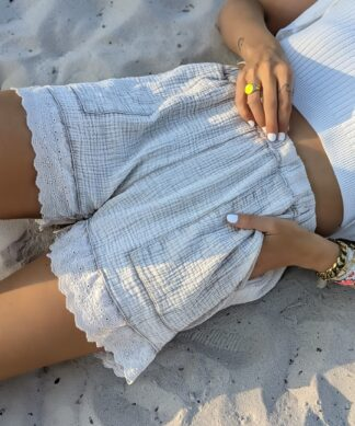 Musselin Shorts LAID BACK LACE
