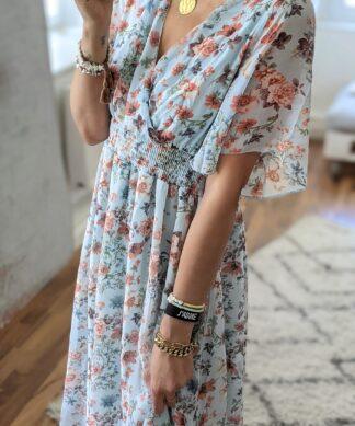 Langes Kleid IMPRESSIVE FLOWER