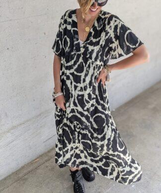 Langes Kaftan Kleid BATIK VISION
