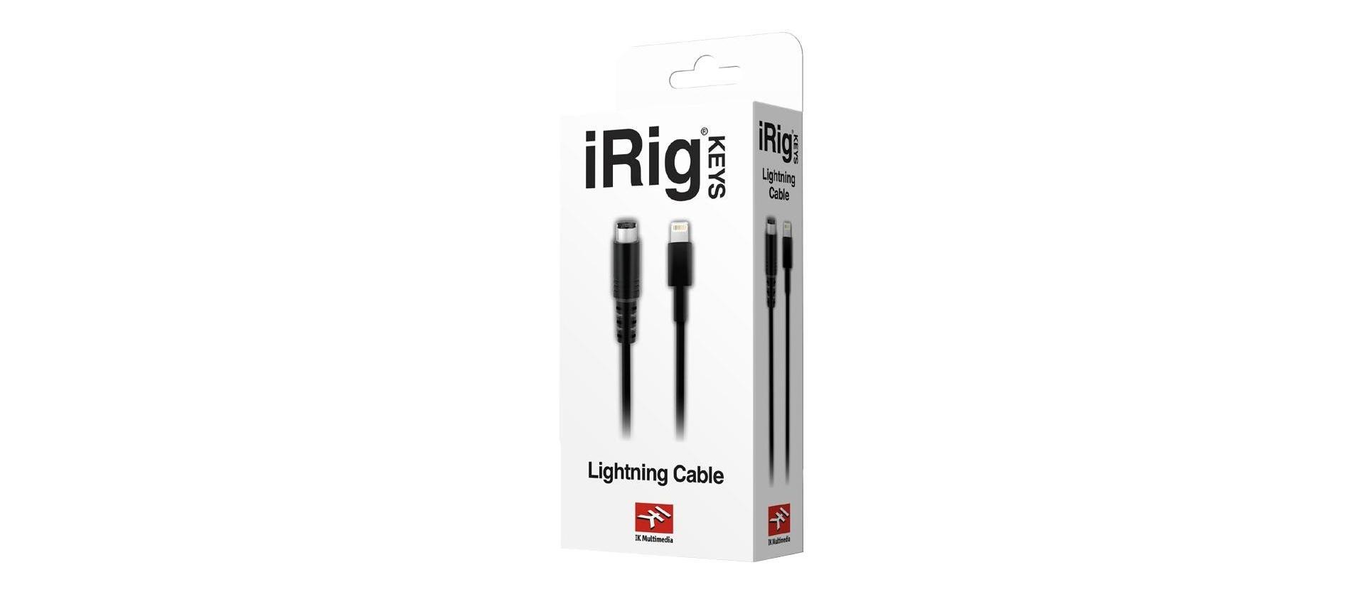 Ik Multimedia Lightning To Mini Din Cable