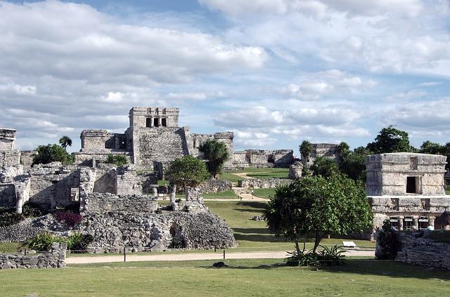 Riviera Maya Mexico Tulum Mayan Ruins
