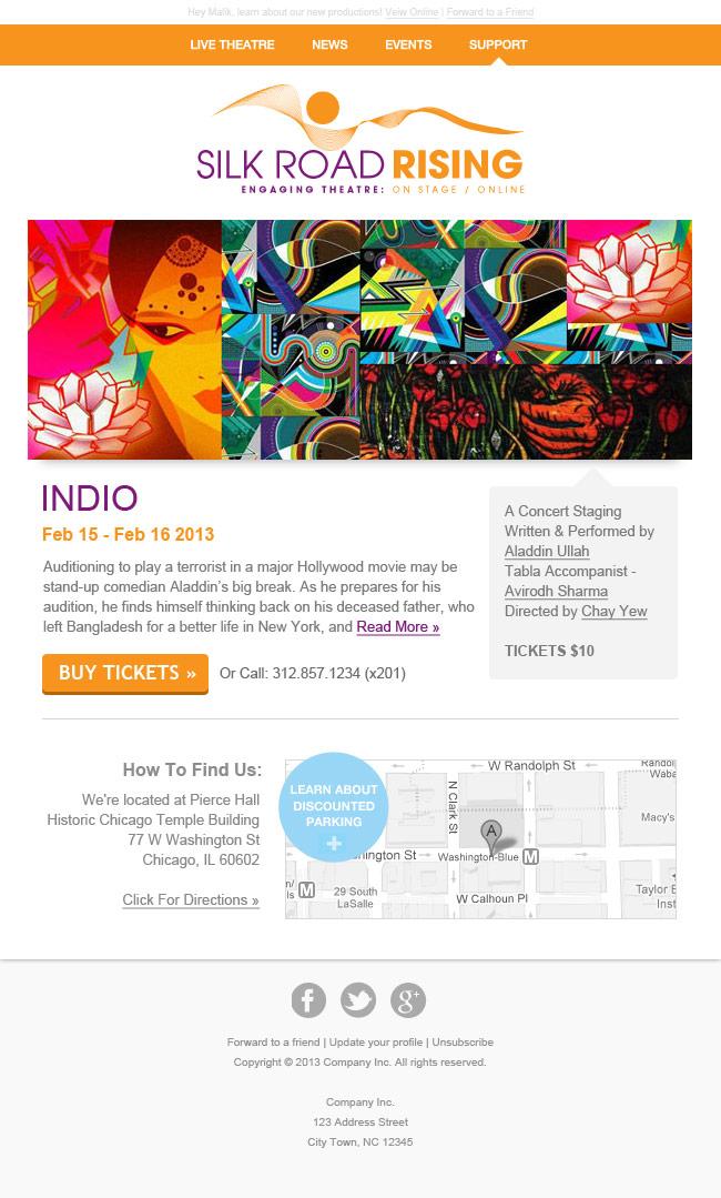 Custom Email Design Portfolio | LuckyRedPixel