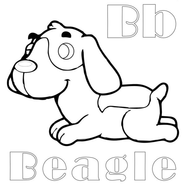 beagle coloring pages # 16