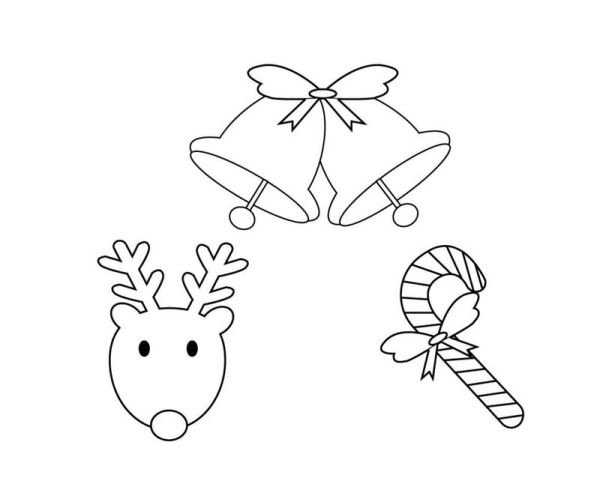 preschool christmas coloring pages # 67