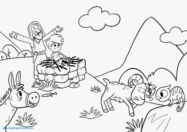 Isaac And Rebekah Coloring Page – iconmaker.info