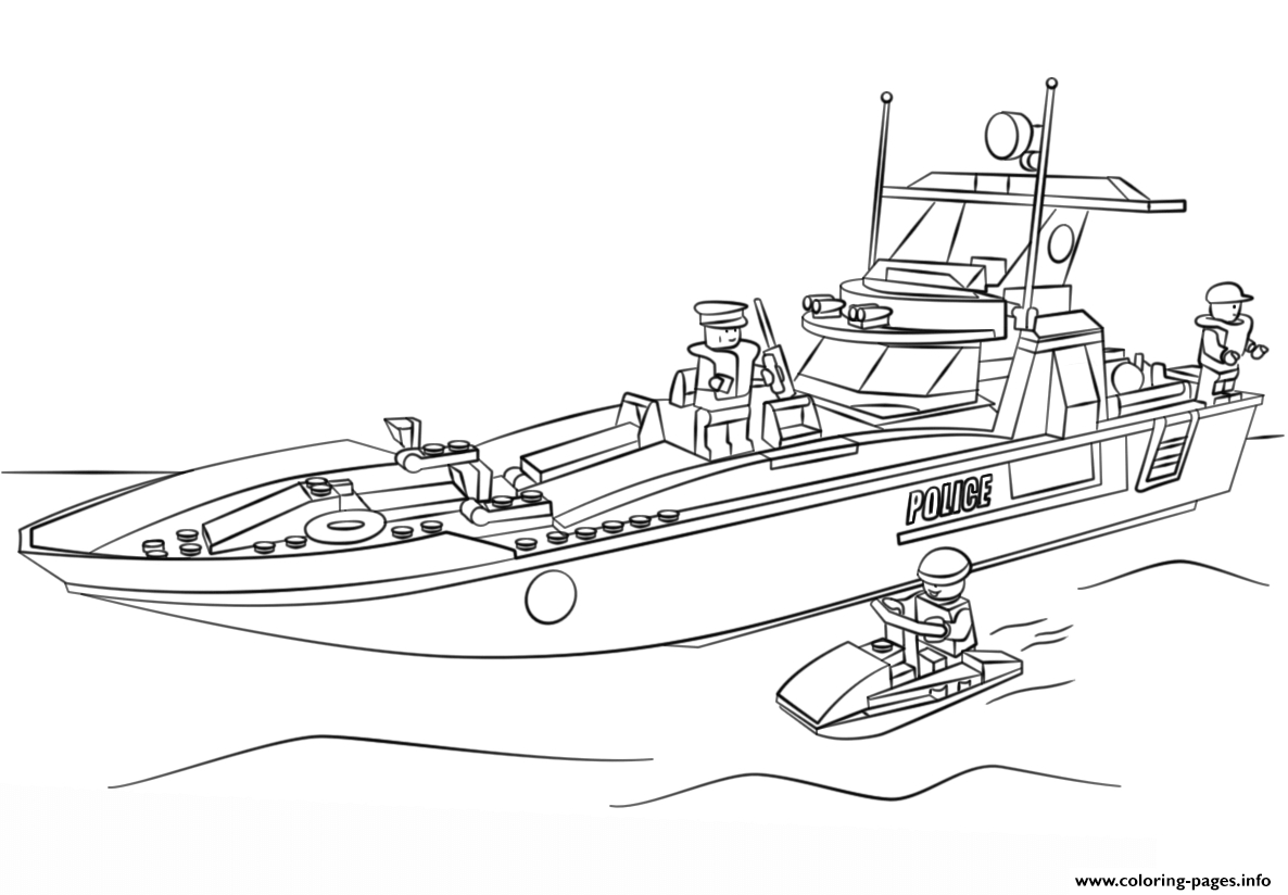 30 Lego City Coloring Pages Collection