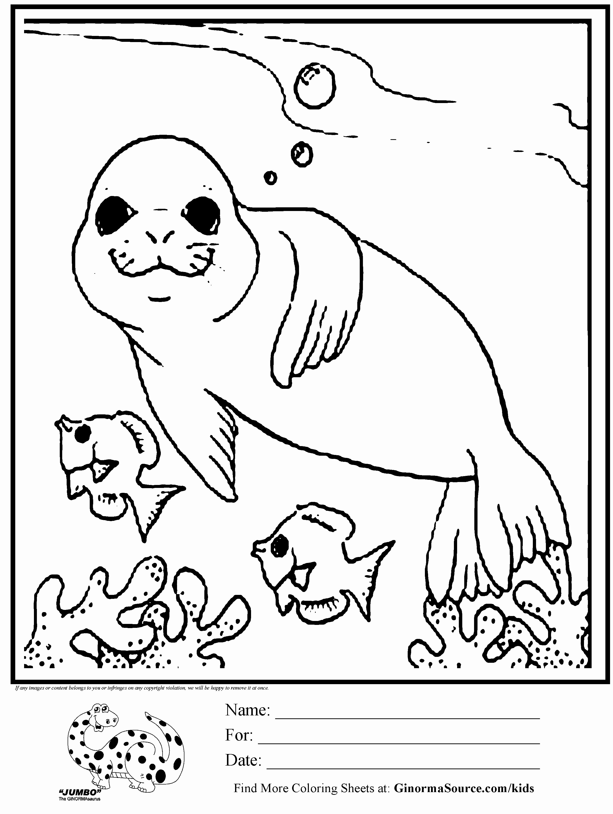 29 Zoo Animals Printable Coloring Pages Download